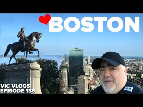 Boston Travel Vlog 2017
