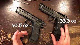 Beretta 92A1 vs. CZ-75 SP-01 Tactical Review - All-Metal Magic!