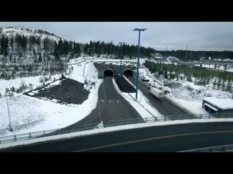 Renault Trucks T High on Finnish snow-covered roads
