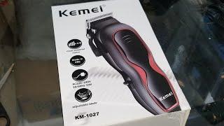 Unboxing Magnetic Clipper Kemei KM-1027 - 28 June 2019