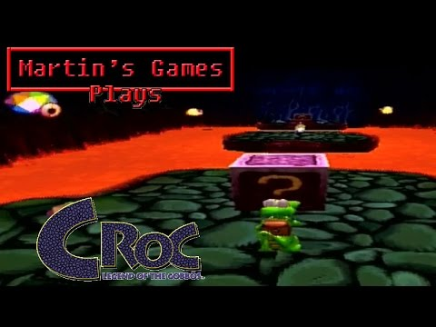 Croc (PlayStation Game Play)