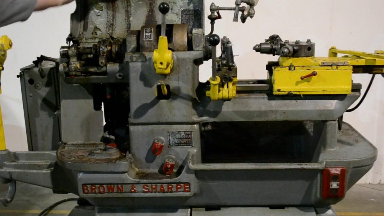 Brown And Sharpe Screw Machine