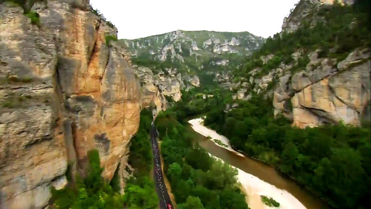 landscape of the day stage 14 rodez mende tour de france