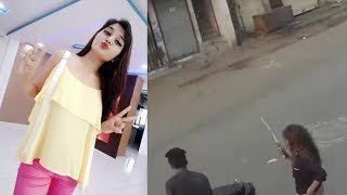 Lady Don Bhuri Again Spreading Terror in Streets of Surat, watch Viral Video