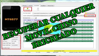 TUTORIAL FLASH TOOL RECUPERAR CUALQUIER MOVIL CHINO BRICKEADO | Hack Veneno