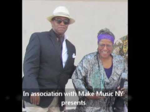"""Roz Nixon Ent with Make Music NY  """"Celebrating Seniors Day"""" 6- 21-2017 Jackle Robinson Park NYC"""
