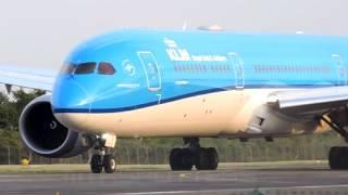 Aterrizaje B787-900 KLM | Cartagena, Colombia | SKCG.