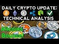 Daily Crypto Update (10/22/17) Altcoins Bounce! + Technical Analysis