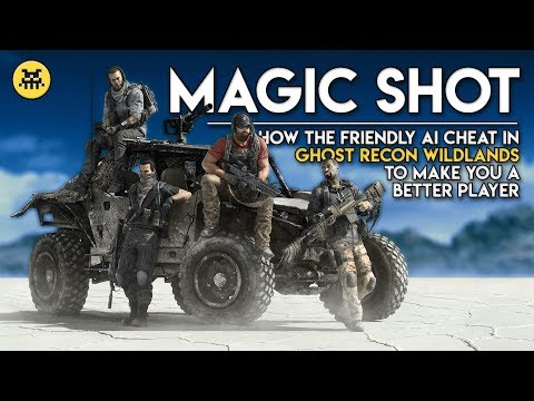 Why Friendly AI Cheat in Ghost Recon Wildlands | AI and Games