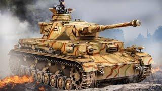 Лучший средний танк Второй Мировой. Немецкий средний танк Pz.Kpfw. IV. Бронетехника Вермахта
