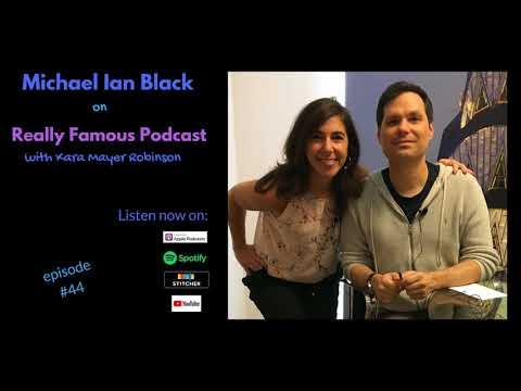MICHAEL IAN BLACK podcast interview
