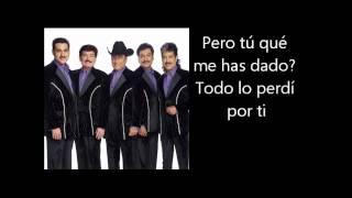 Los Tigres Del Norte - Golpes En El Corazon Letra Lyrics