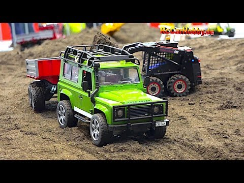 RC TRUCK ACTION AT MODEL CONSTRUCTION SITE FAIR STUTTGART 3