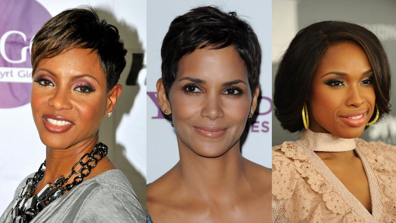 50 best short hairstyles for black women over 40 - youtube
