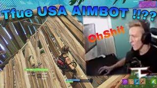 Tfue USA AIMBOT !!?? | FORTNITE FUNNY MOMENTS| AdrianVG | MPG CLAN