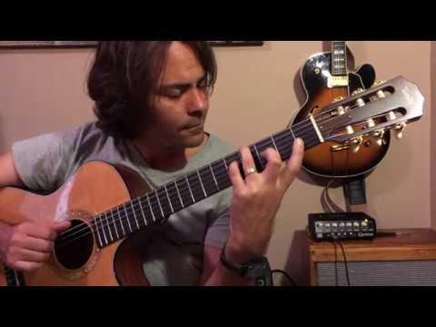Blue Bossa - Jazz Guitar Chord Melody