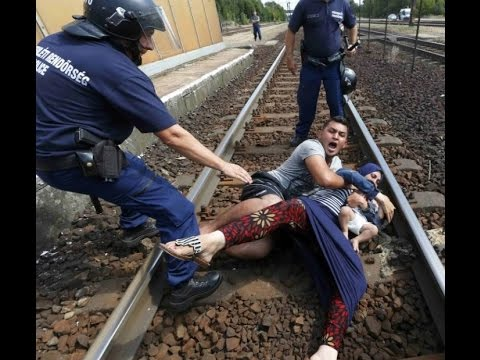 "Hungarian ""Police Brutality"" vs Migrants"