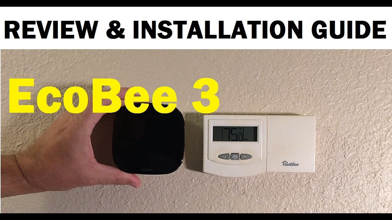 Ecobee3 Smart Wifi Thermostat Review And How To Replace