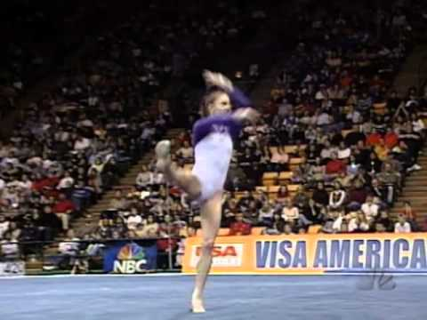 Courtney Kupets - Floor Exercise - 2003 Visa American Cup