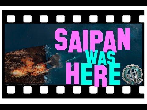 Saipan OP ツ ? World of Warships - Premium CV 800K Credits