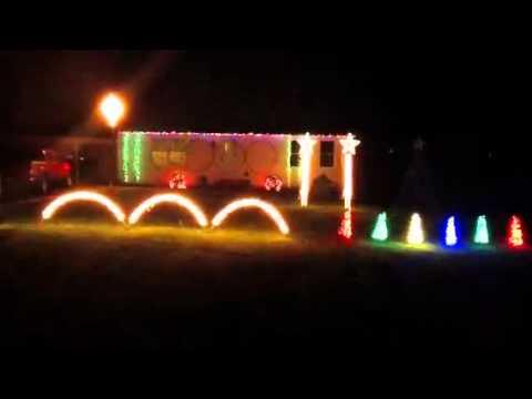 Pelow's Musical Christmas lights 2011