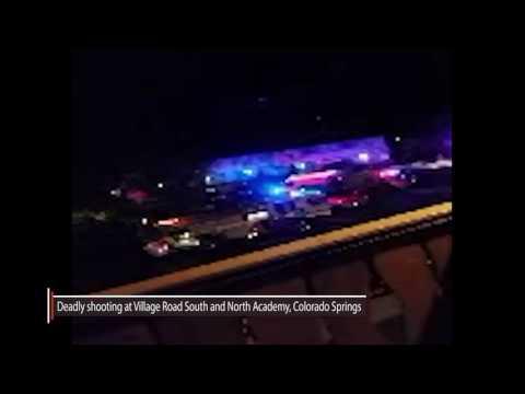Gunshot heard at a deadly Colorado Springs shooting