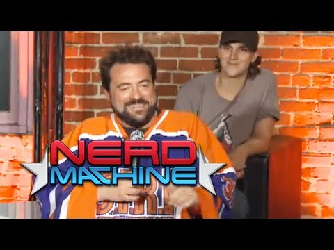 Interview with Kevin Smith and Jason Mewes - Nerd HQ (2011) HD - Zachary Levi
