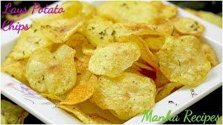 Lays Stayl Potato Chips Tomato Flavor | Crispy Alor Chips | Homemade Potato Chips