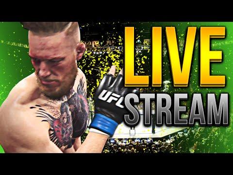 EA SPORTS UFC 2 CAREER MODE LIVE STREAM!
