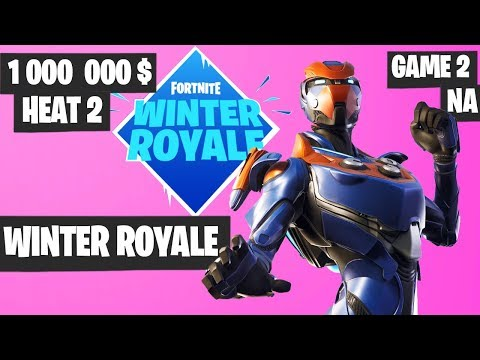 Fortnite Winter Royale Semifinal Heat 2 Game 2 NA Highlights [Fortnite Tournament 2018]
