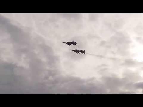 MiG-29 aerobatic group @ Belgrade October 2014
