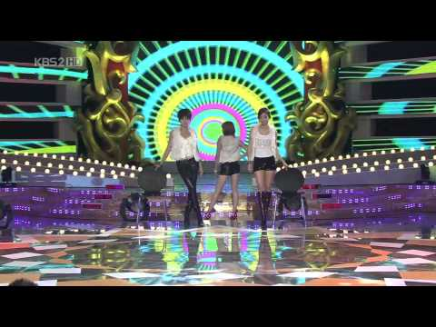 Yuri Sunny Sunhwa Hyomin Narsha Hara Hyuna Shinyoung & Taewoo @ KEA Dec26.2009 Live