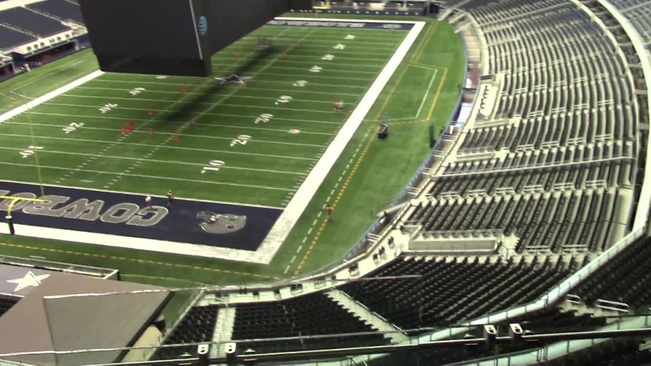 Dallas Cowboys Ring Of Honor Suite 522 By Metro Tickets Youtube