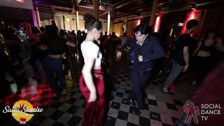 Yoshimichi Togano & Melissa Mame - Salsa Social Dancing | Salsa Sunrise Party 2019