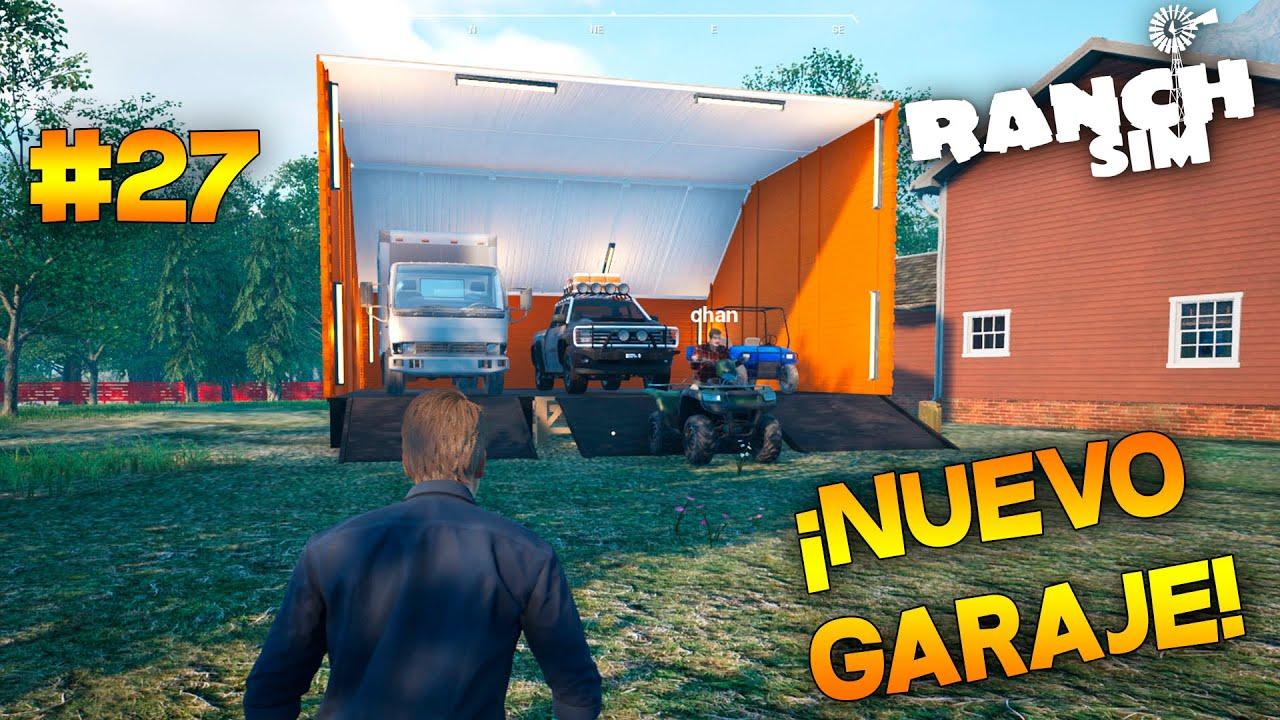 ¡CONSTRUIMOS NUEVO GARAJE EN LA FINCA!   Ranch Simulator