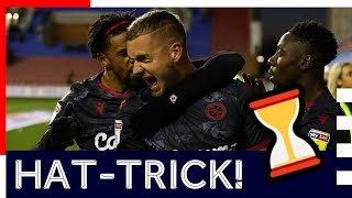 HAT TRICK IN UNDER 5 MINUTES George Pușcaș with a quick fire treble