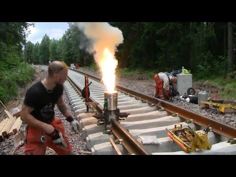 Amazing thermite welding