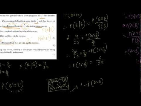 S1 2009 Jan (Probability Sums Q2,3)
