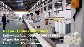 Full Automatic Toilet Paper Making Machine Line ( TZ-FJ-BL )