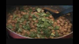 Pindi Chana Recipe, Spiced Chickpeas - Indian Food Recipe