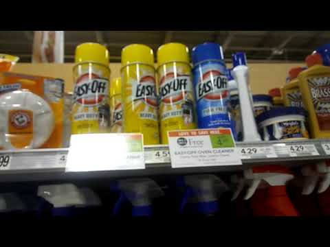 Awesome Deal on Easy Off Oven Cleaner at Publix