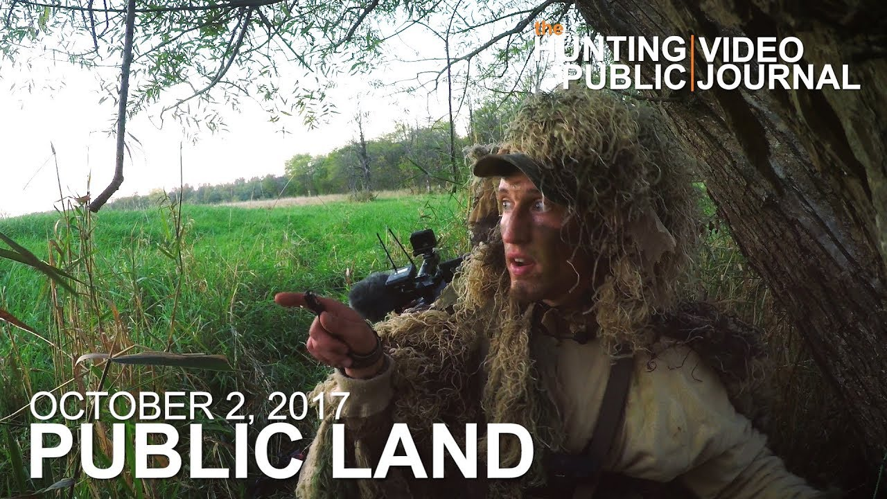 Public Land Day 11: Ghillie Ground Sneak, Bedding Area Close to Water | The  Hunting Public