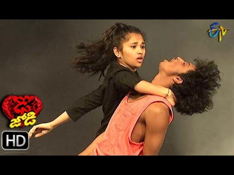Abhay Surya and Jeevana Performance   Dhee Jodi   30th January 2019     ETV Telugu