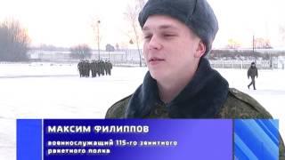 2016-12-06 г. Брест. Начало учебного года в 115 зенитном ракетном полку. Новости на Буг-ТВ.