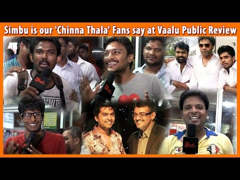 Simbu is our 'Chinna Thala' Fans say at...
