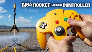 How To Make An N64 Rocket Launch Controller(Here's how to hack an N64 game controller, into a remote rocket launch controller ... That'll launch freakin' rockets in real life, and ignite fireworks up to 30 feet ..., 2015-09-19T14:00:38.000Z)