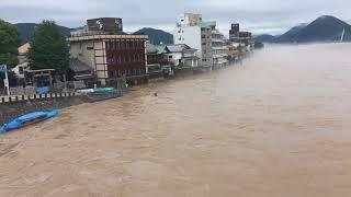 2018 7 8長良川氾濫