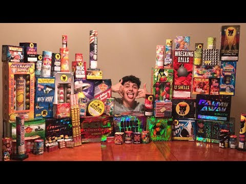 ULTIMATE 4TH OF JULY ILLEGAL FIREWORKS EXPLOSIONS! (COPS CALLED)