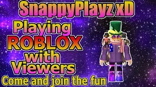 Playing Roblox JailBreak W/ Viewers | Come, Join the fun! | 🔴 LIVE
