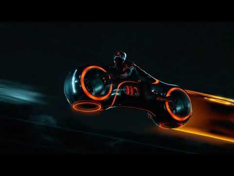 Tron Legacy Lightbike Scene [4K]